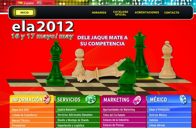 ELA 2012 estrena web