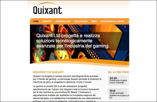 Quixant Italia lanza su nueva web