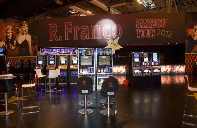 Orenes acudirá al I Expo Congreso Andaluz sobre el Juego con un amplio elenco de máquinas de R.Franco