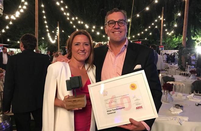 La Asociación Española de Centros y Parques Comerciales reconoce a Pause&Play con el premio a la mejor transformación comercial