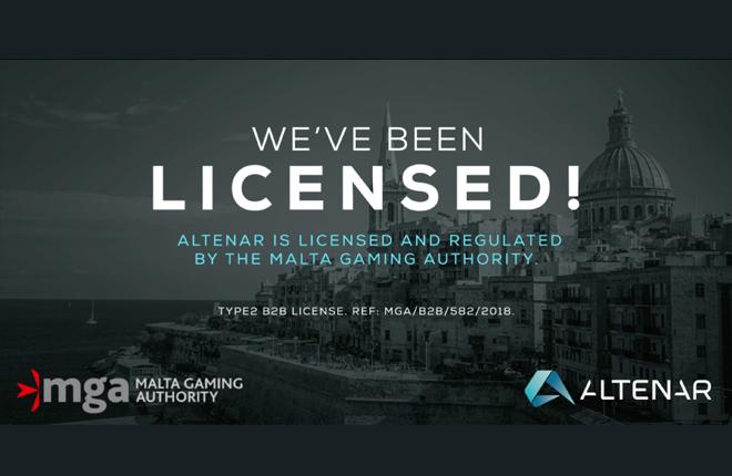 Altenar obtiene licencia en Malta