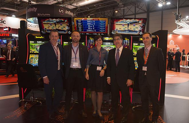 La colaboración entre Metronia, BANDAI NAMCO Amusement y Quixant da sus frutos