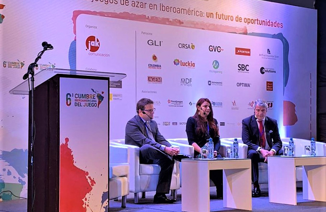 Coljuegos participa en la sexta Cumbre Iberoamericana del Juego en Perú