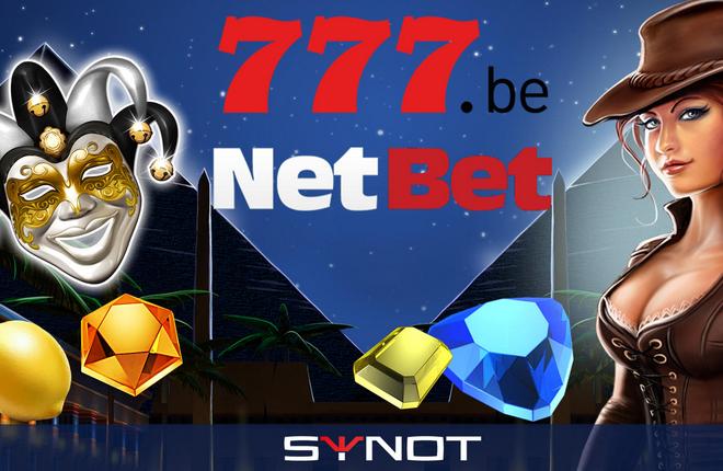 NetBet y777 comenzarán a ofrecer juegos de Synot