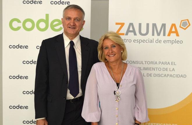 Codere firma un acuerdo de colaboración que promueve la inclusión laboral