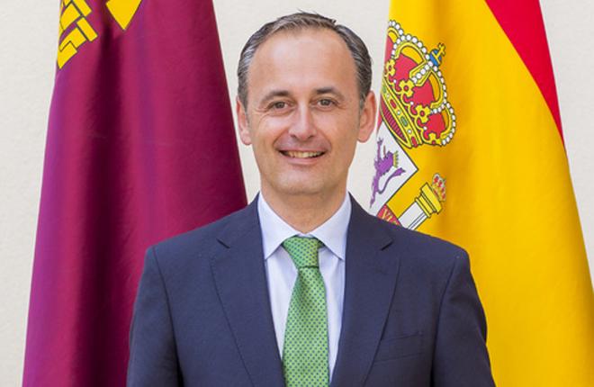 REGIÓN DE MURCIA: Javier Celdrán Lorente nuevo consejero de Presidencia y Hacienda