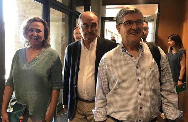 ARAGÓN:Mayte Pérez, nueva consejera de Presidencia y Relaciones Institucionales