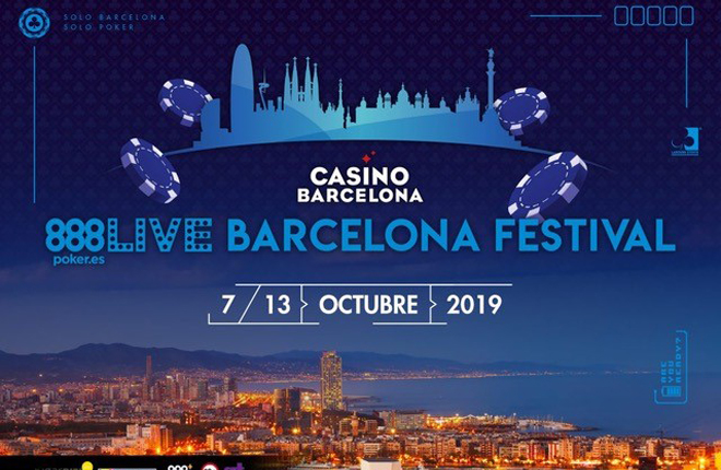 50.000€ se embolsará el ganador del Main Event del 888Live Barcelona Festival