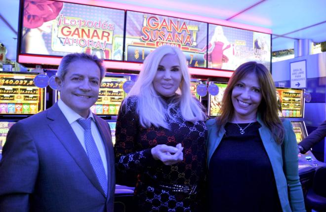 Aristocrat trae el popular juego progresivo Gana con Susana al casino Buenos Aires