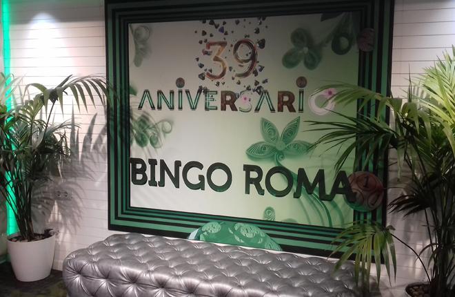 39 aniversario del Bingo Roma