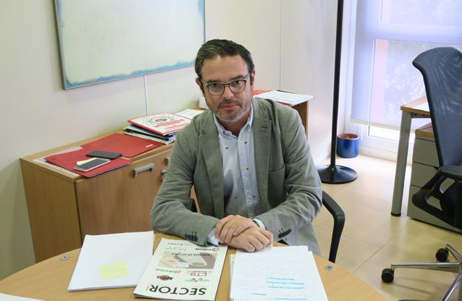 Fotos de la entrevista a Miquel Piñol
