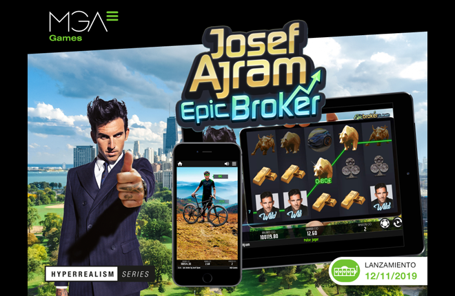 La producción Josef Ajram Epic Broker sube el valor de MGA Games en el mercado internacional