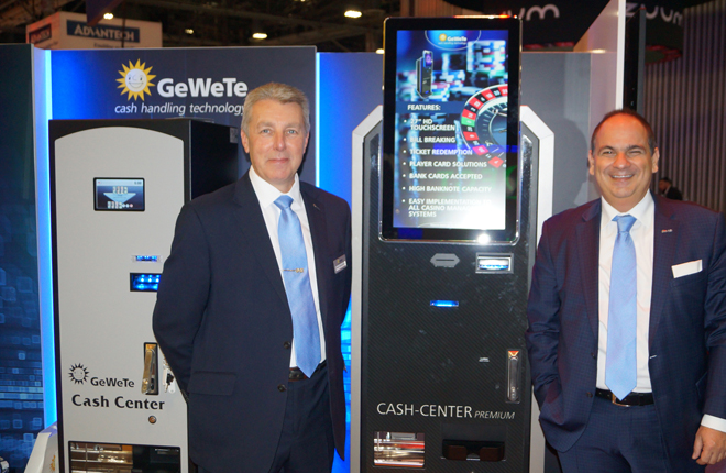 GeWeTe vivió un exitoso G2E Las Vegas