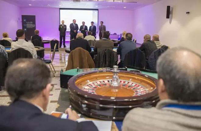 ANDALUCÍA: Una treintena de policías autonómicos se forman en Granada en la normativa de casinos