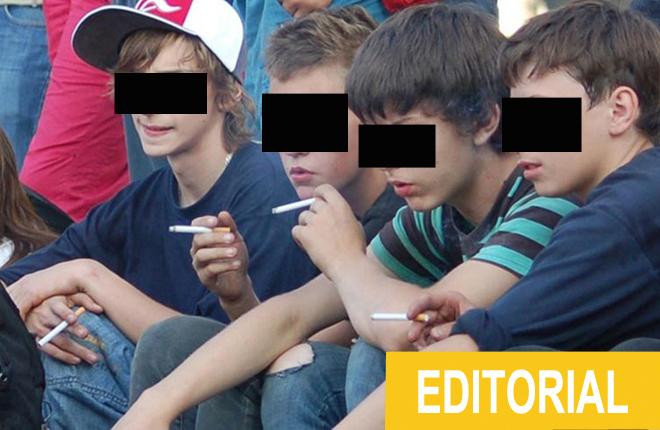 ¿Nadie se moviliza ni denuncia a los que venden alcohol, tabaco y droga a los menores de edad?