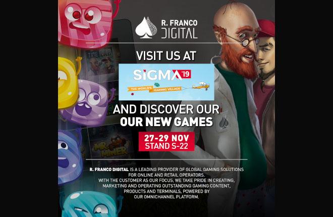 R.Franco Digital incrementa su presencia en SIGMA-Malta