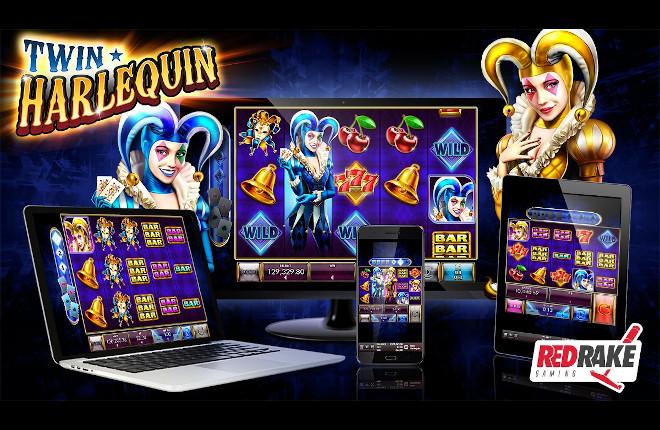 """Estallido de color y premios en """"Twin Harlequin"""", el nuevo estreno de Red Rake Gaming"""