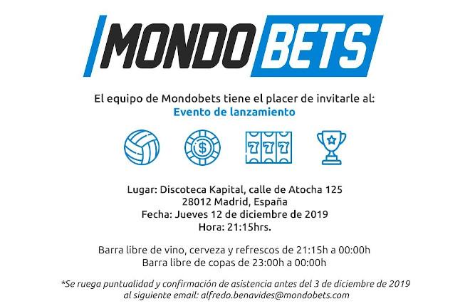 Mondobets organiza un evento en Madrid