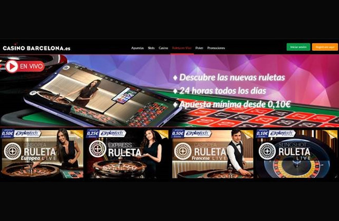 CasinoBarcelona.es amplía su colaboración con Playtech lanzando el producto Ruleta en vivo