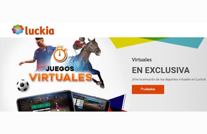 Luckia a lo grande con el lanzamiento de sus deportes virtuales