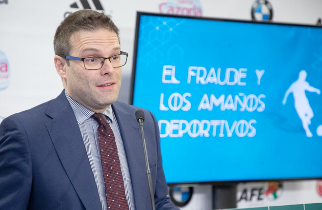 """Participación de la DGOJ en la jornada """"El fraude y los amaños deportivos"""""""