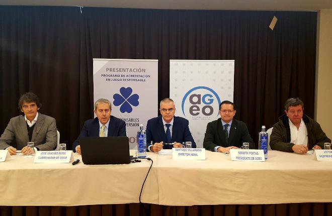 AGEO velará en Galicia, en colaboración con COFAR, por el juego responsable en los locales de hostelería