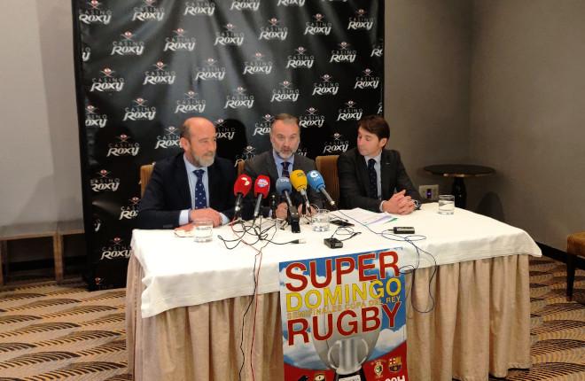 Restaurante Casino Roxy, patrocinador oficial de las semifinales de la Copa de SM el Rey de Rugby
