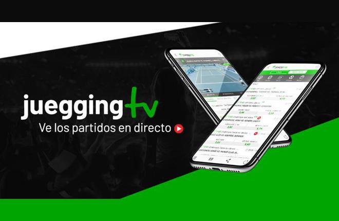 Ya se pueden ver los partidos en directo en Juegging TV