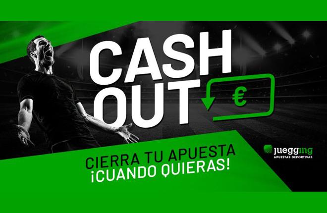 Otra novedad de Juegging: el Cash Out