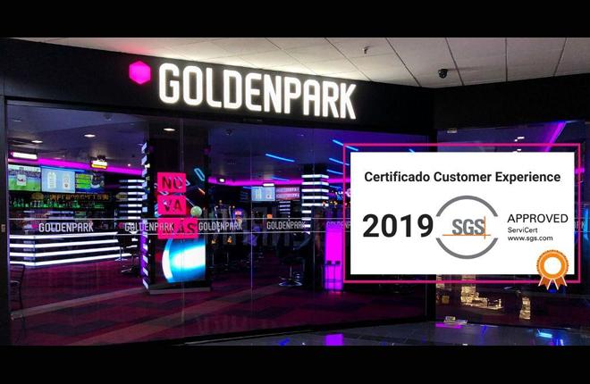 Los salones Golden Park revalidan por segundo año consecutivo el sello de calidad en atención y servicio al cliente