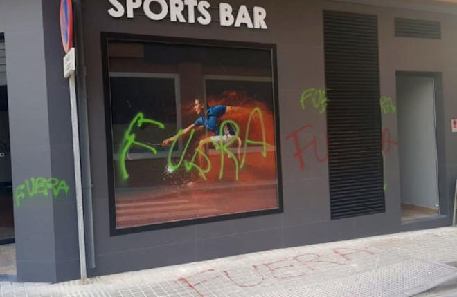 ¿Es consciente el Ministro Garzón y el resto de autoridades del vandalismo al que están sometidos los salones?