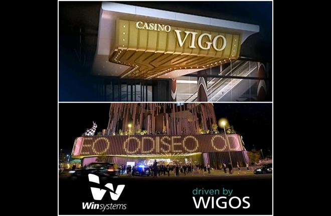 El excelente sistema Wigos, de Win Systems, en el Casino de Vigo y el centro comercial Odiseo