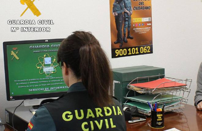 La Guardia Civil investiga a un joven que denunció cargos fraudulentos de una casa de apuestas simulando el delito