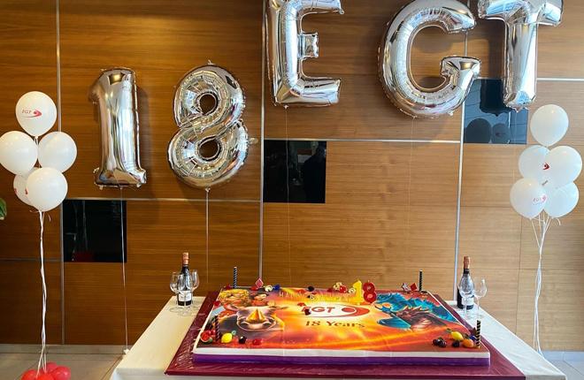 EGT cumple 18 años ... aquí están las fotos del aniversario