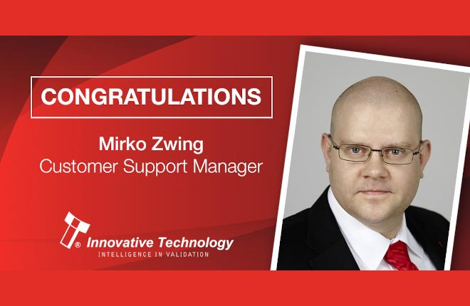 Ascenso profesional de Mirko Zwing en ITL