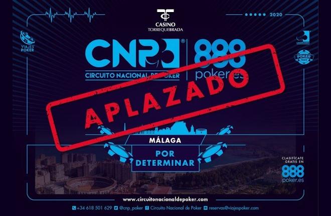 Aplazada la etapa del CNP888 que se iba a celebrar en Málaga