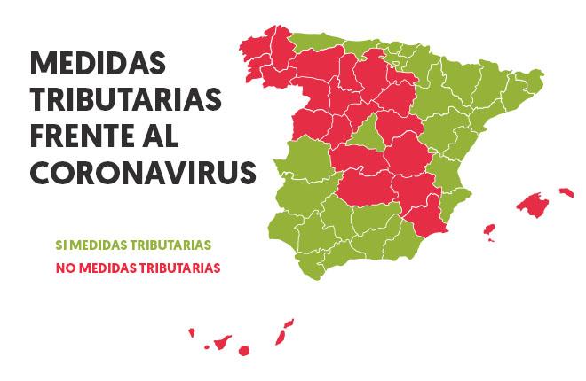 Así queda el mapa tributario para combatir la crisis del coronavirus