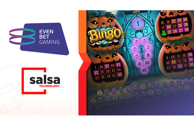 Salsa Technology integrará su cartera de videobingos en la plataforma de EvenBet