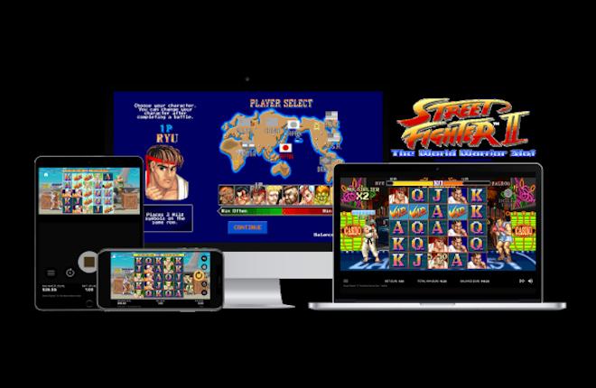 NetEnt recupera el mítico videojuego Street Fighter II