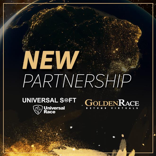 Golden Race lleva sus deportes virtuales a las tiendas de apuestas de UniversalSoft en Latinoamérica