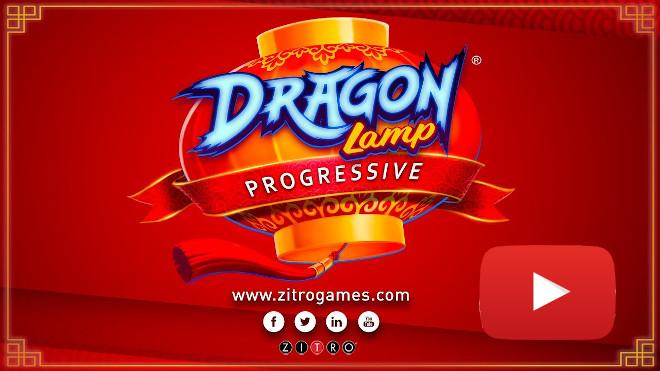 Gran novedad mundial de Zitro: Dragon Lamp