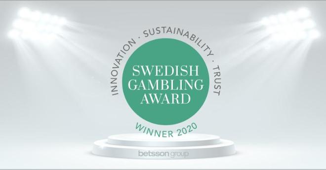 Premio para Betsson en Suecia