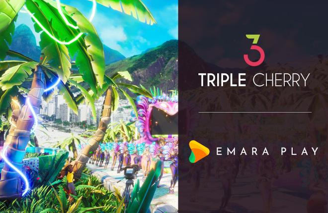 Triple Cherry se asocia con Emara Play