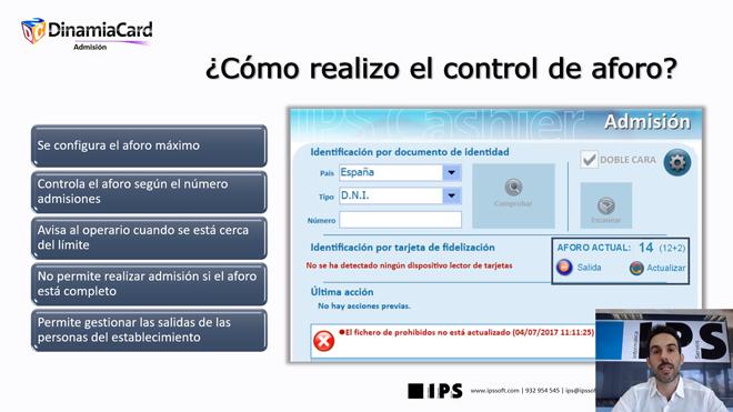 Control de aforo presencial y lectura de documentos con escáner MRZ, principales atractivos del webinar de IPS