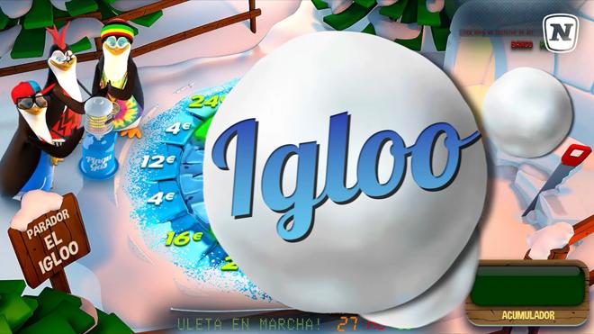 El minijuego Igloo también estará en Pingüinos Locos