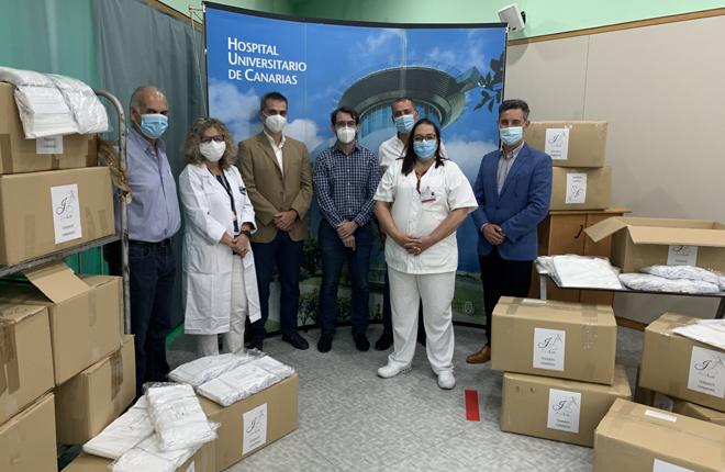 Las asociaciones más representativas del sector del juego canario donan material sanitario