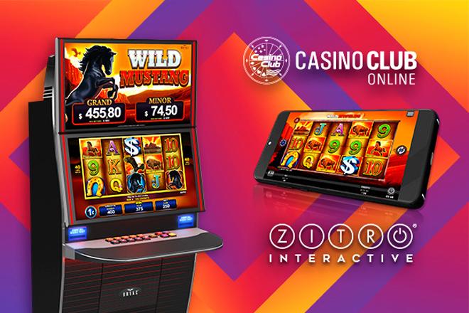 Los juegos de Zitro llegan a Casino Club Online