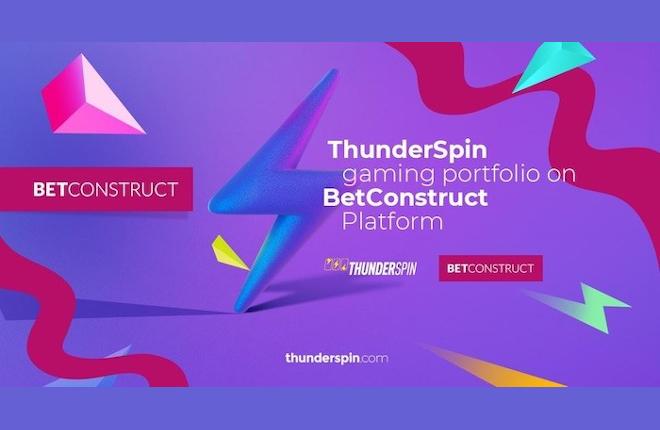 Los juegos de ThunderSpin se agregarán en la plataforma de BetConstruct