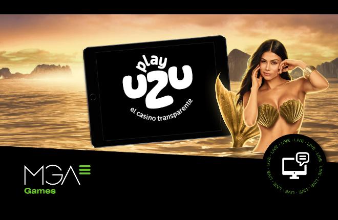 Las producciones de MGA Games se estrenan en el novedoso casino PlayUZU de Skill On Net