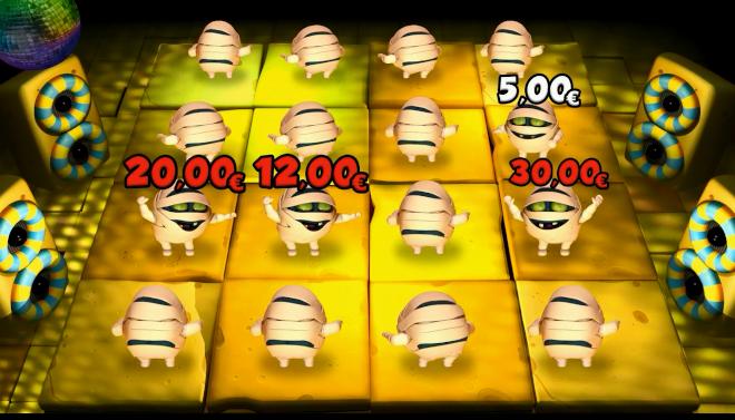 """""""La Disco"""", el mini juego más divertido de la mixta El Oro del Faraón"""